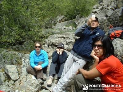 Cascadas del Purgatorio - Senderismo y Turismo Activo Madrid; rutas madrid senderismo